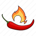 chili, eco, food, pepper, plant, seasoning, spice icon