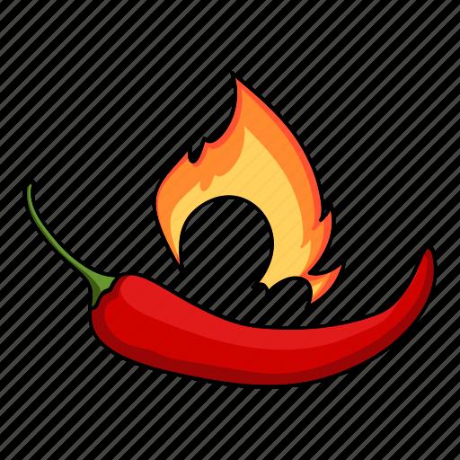 chili, eco, food, pepper, plant, seasoning, spice icon