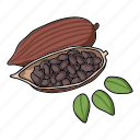 cooking, eco, food, plant, seasoning, sesame, spice icon