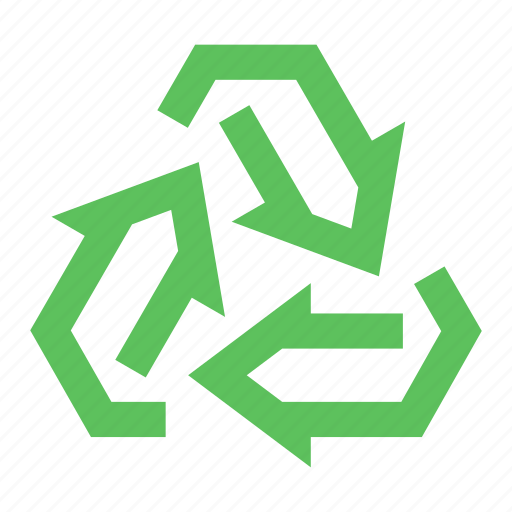 eco, ecology, green, recycle, recycling, renewable, sustainable icon