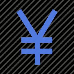 currency, finance, financial, forex, japanese, market, yen icon
