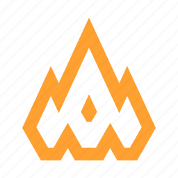 burn, burning, fire, flame, flames, flammable, heat icon