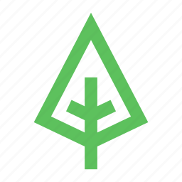 eco, ecology, green, nature, organic, park, tree icon