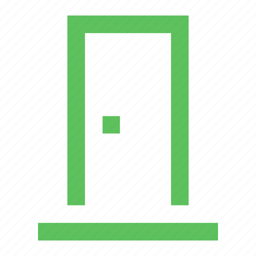 access, door, doorway, enter, entrance, login, passage icon