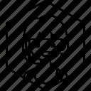avatar, girl, profile, shirt, woman icon