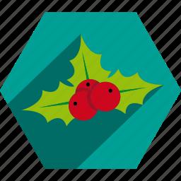 christmas, decoration, kiss, mistletoe, ornament icon