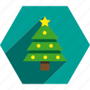christmas, pine, tree, xmas icon