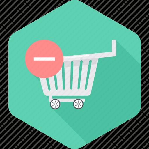cart, delete, ecommerce, remove, sale, shopping icon