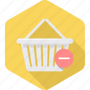 cart, commerce, delete, ecommerce, remove, shop, shopping icon