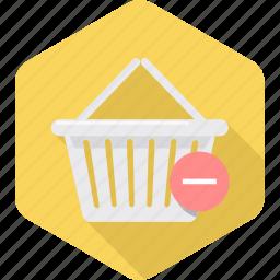 cart, commerce, delete, ecommerce, remove, shop, shopping icon