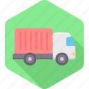 cargo, delivery, logistic, logistics, shipment, shipping, truck icon