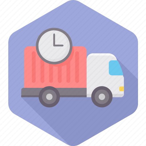 delay, delayed, delivery, ecommerce, schedule, shipping, time icon