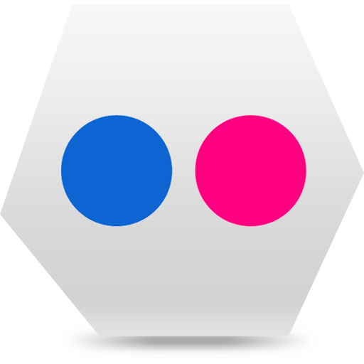 flickr, social, social media icon