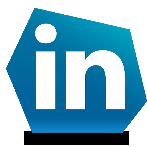 linked in, linkedin, social icon