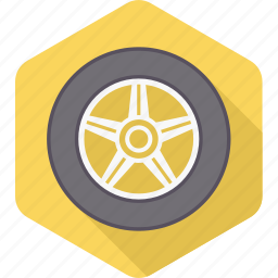 car, repair, service, transportation, tyre, tyres, wheel icon