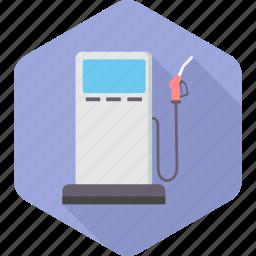 diesel, fuel, gasoline, oil, petrol, pump, station icon