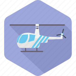 air, airplane, delivery, helicopter, plane, transport, transportation icon