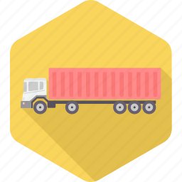 automobile, delivery, heavy, transport, transportation, truck, vehicle icon