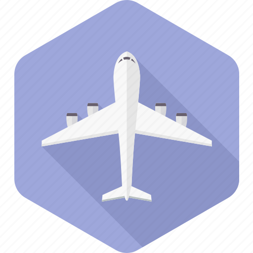aeroplane, airline, airplane, aviation, flight, plane, transportation icon