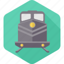 public, rail, railway, railways, train, transport, transportation icon
