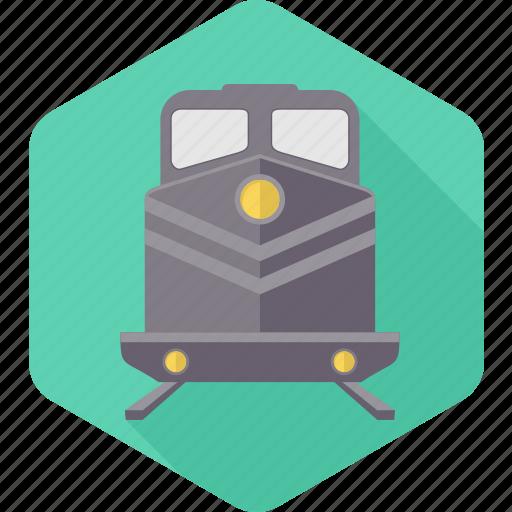public, rail, railway, railways, train, transport, transportation icon