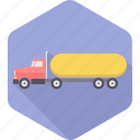 automobile, delivery, heavy vehicle, road, transport, transportation, truck icon