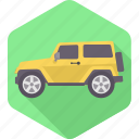 automobile, car, jeep, transport, transportation, van, vehicle icon
