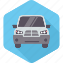 automobile, car, jeep, road, transport, transportation, vehicle icon