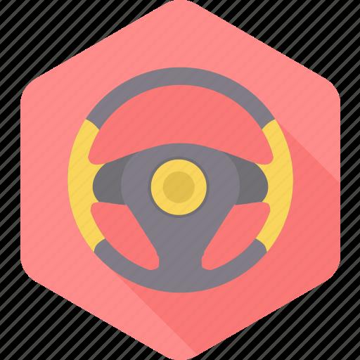 car, cogwheel, gearwheel, steering, vehicle, wheel, wheels icon