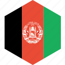 afghanistan, country, flag, world icon