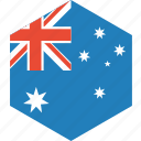 australia, country, flag, world icon