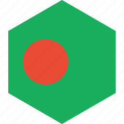 bangladesh, country, flag, world icon