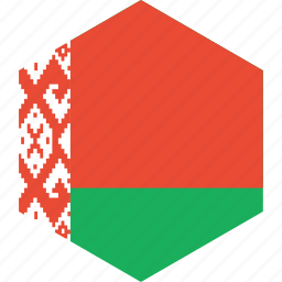 belarus, country, flag, world icon