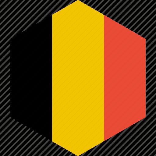 belgium, country, flag, world icon