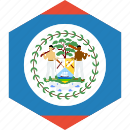 belize, country, flag, world icon