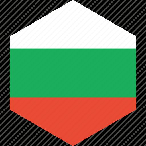 bulgaria, country, flag, world icon