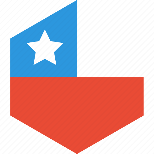 chile, country, flag, world icon