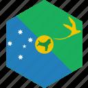 christmas, country, flag, island, world