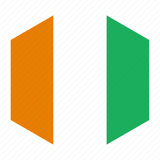 cote, country, divoire, flag, world icon