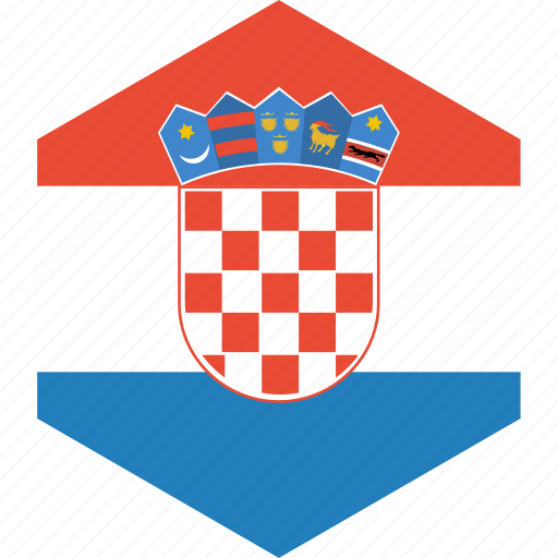 country, croatia, flag, world icon