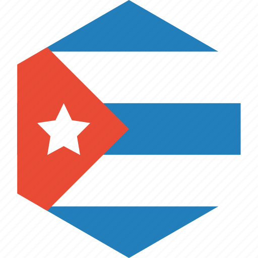 country, cuba, flag, world icon