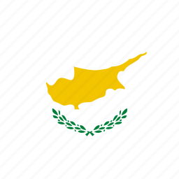 country, cyprus, flag, world icon