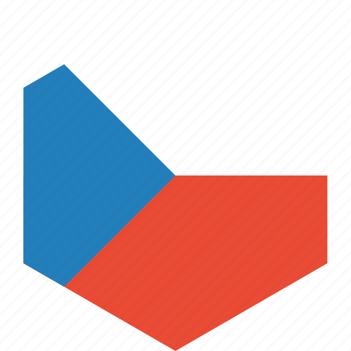 country, czech, flag, republic, world icon
