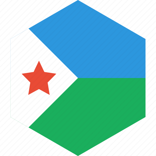 country, djibouti, flag, world icon