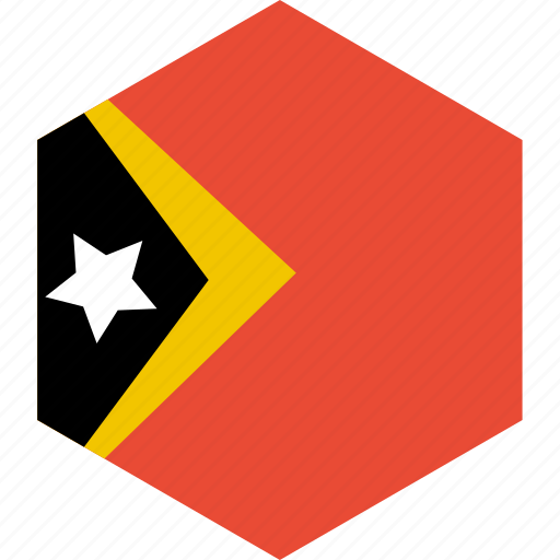 country, east, flag, timor, world icon