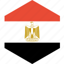 country, egypt, flag, world icon
