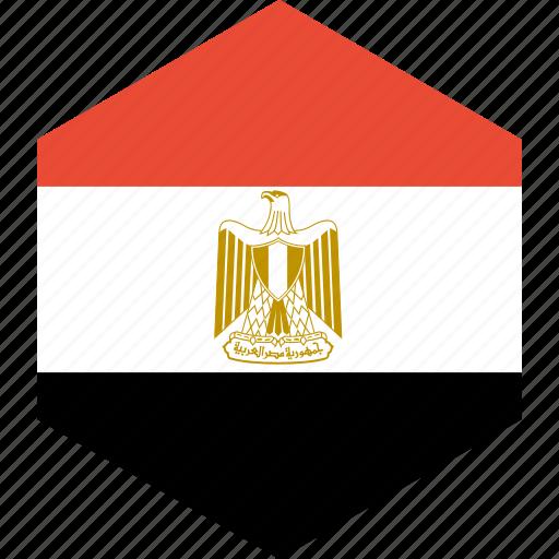 country, egypt, flag, world icon