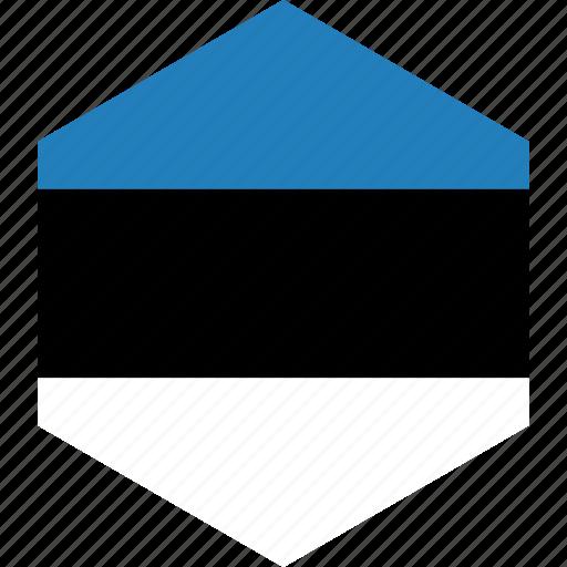 country, estonia, flag, world icon