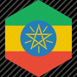 country, ethiopia, flag, world icon