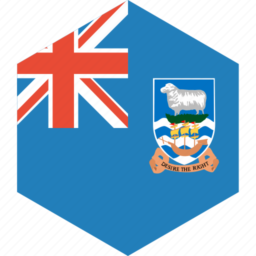country, falkland, flag, islands, world icon